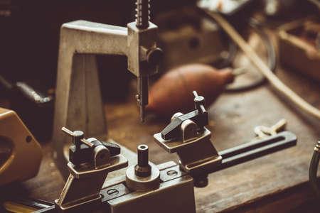 milling machine: Close-up of milling machine part