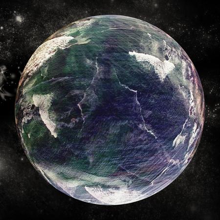 banco mundial: Composite image of globe against white background