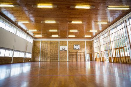 Image d'une salle de sport vide