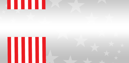 digital composite: Digital composite of American flag with starry background Stock Photo