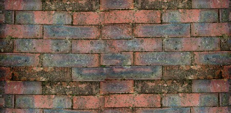 red brick wall: Red brick wall Stock Photo