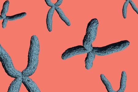 digital composite: Digital composite of Blue virus on pink background