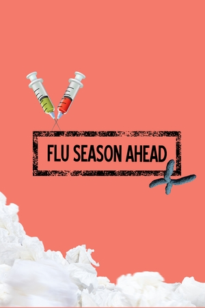 digital composite: Digital composite of Fight the flu design
