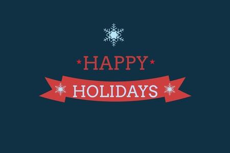 peep: Digital Composite of Christmas Message on Black Background Design