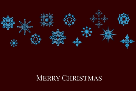 tearing down: Digital Composite of Christmas message and Blue Stars on Black Background Design