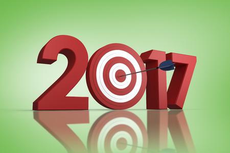digital eye: Digital composite of numbers with bulls eye arrow against green vignette