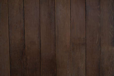 wood panelling: Close-up of brown wood panelling