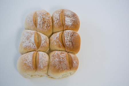 loaves: Bread loaves on white background