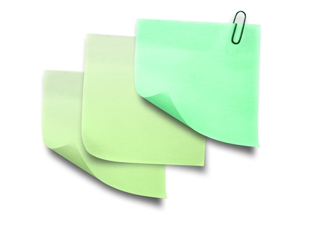 Digital composite of Sticky Note against a white background