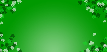 Digital composite of Patricks day wallpaper