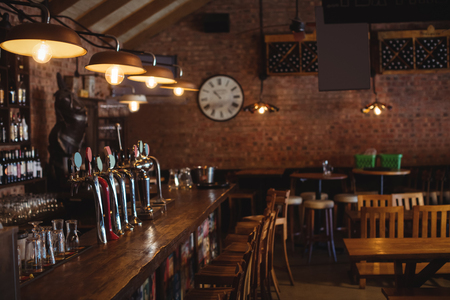 empty bar counter at pub stock photo picture and royalty free image