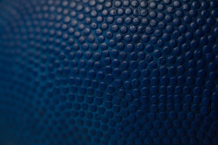 Full frame shot of blue American football