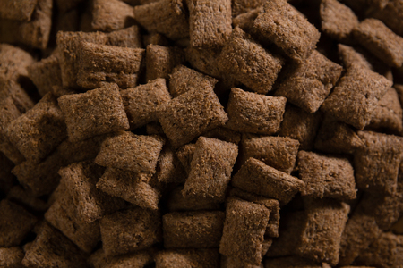 Close-up of chocolate toast crunchs Stock Photo
