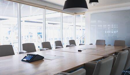 Empty meeting room in a modern office Stok Fotoğraf