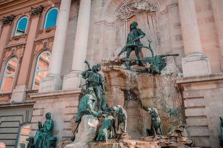 artful: The artful spring Matthiasbrunn, Matthias fountain, Castle of Budapest, Hungary