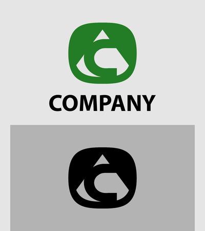 Lettre C Logo Icône Élément graphique