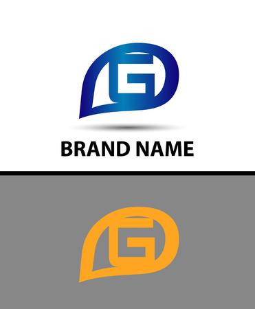 radon: Letter G logo design