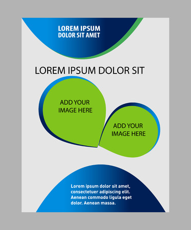 lay-out: Professional business layout template design