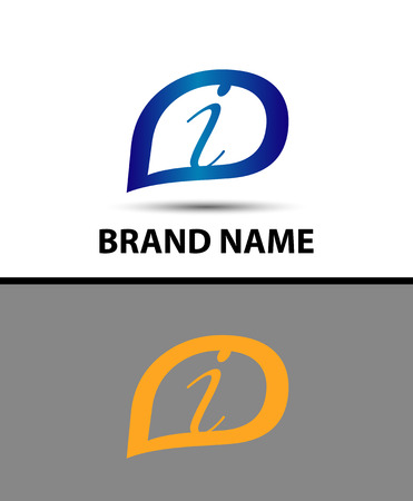 radon: Letter I logo design