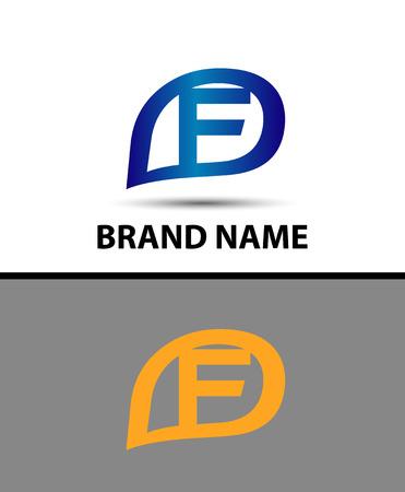 radon: Letter f logo design