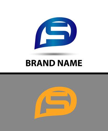 sch: S Letter Logo Design. Vector logo with letter e creative concept