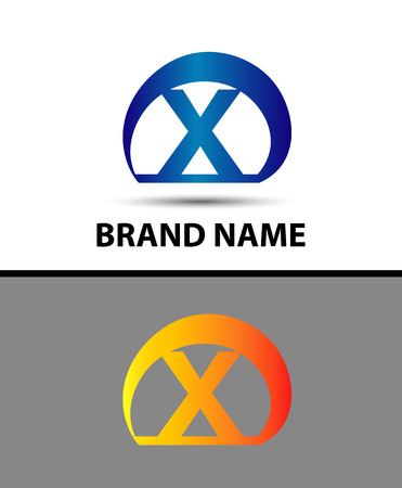 xy: Alphabetical Logo Design Concepts. Letter X