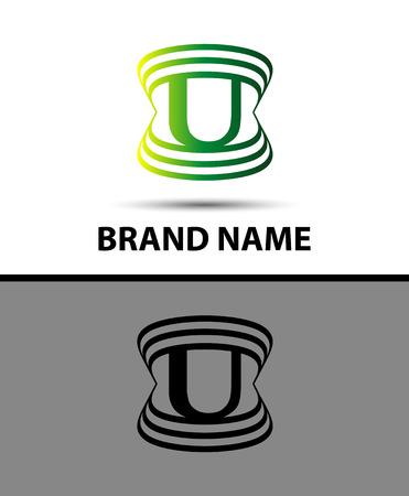 logo vector: U logo icons Vector