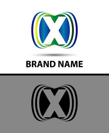 xy: Abstract Vector Logo Design Template X