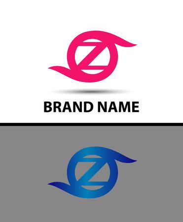 Letter z icon logo design template elements