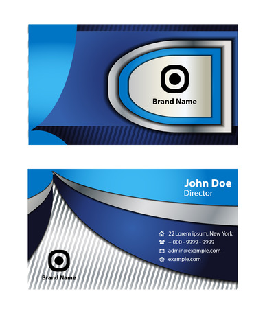 black and blue: Black blue Business Card