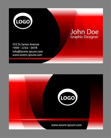 business cards: design business cards Illustration