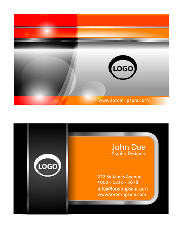 graphics card: Business Card Set