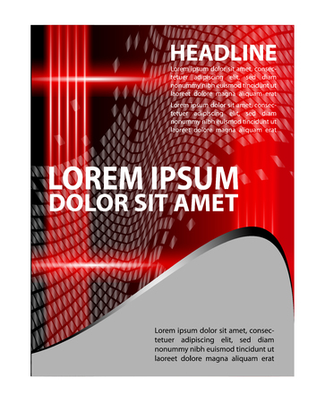 Brochure flyer background