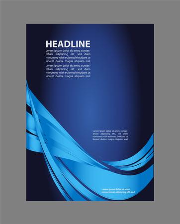 Corporate Business-Hintergründe Flyer