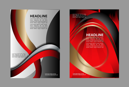 professional business trifold brochure flyer design template