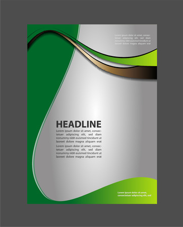 swish: Custom tri-fold brochure template Works great for inside or outside of the ho?c the brochure.