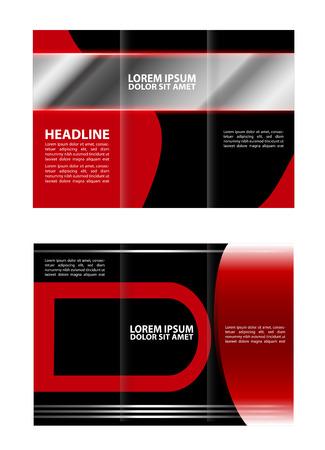tri: Tri fold brochure template business