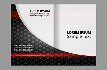 bifold: Bi-fold brochure design templates, business leaflet, booklet