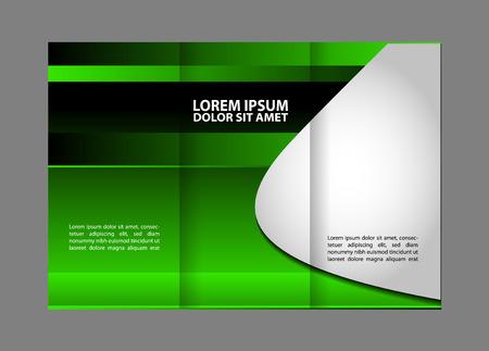 tri: Tri Fold Brochure Design Vector
