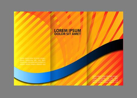 mock up: Tri-Fold Corporate Business Store Brochure Design Mock up &