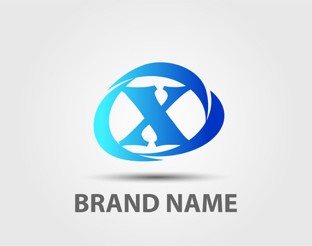 x sport: Vector x logo icons