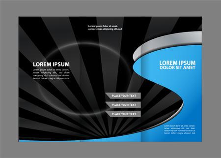 book publisher: Tri fold brochure template business