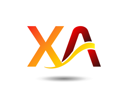 xy: XA initial group vector Illustration