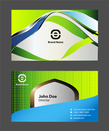 business card: background business card