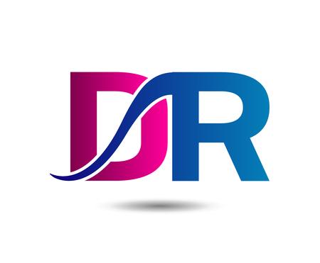 linked: Letter DR linked