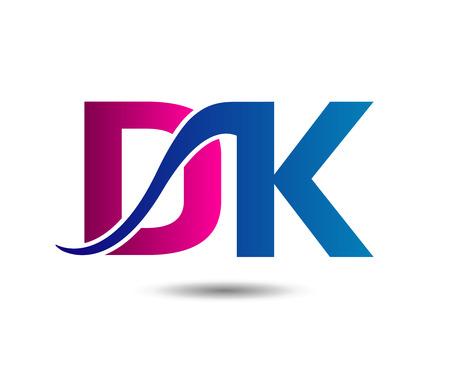 linked: DK  linked Letter