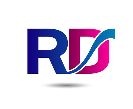 rd: RD vector Illustration