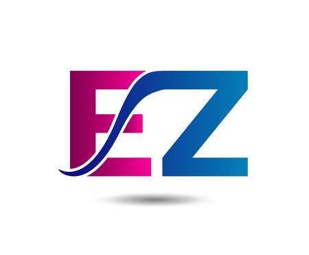 ze: E and Z. Business Unusual ez template Illustration