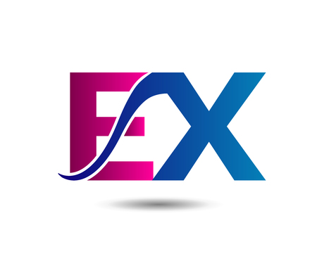 E and X vector, ex sign