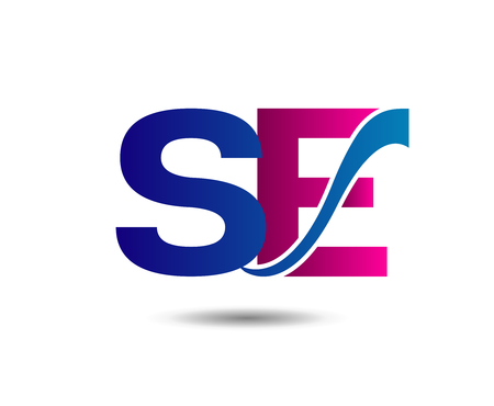 Letter S and E